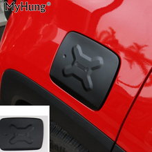 For Jeep Renegade 2014 2015 2016 Gas Fuel Tank Cap Filler Door Trims Exterior Covers Aluminum Stainless Metal Car-styling