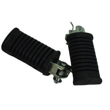 Free Shipping Brand New Motorcycle Front Foot pegs foot rest Foot pedal For Suzuki GN250(China)
