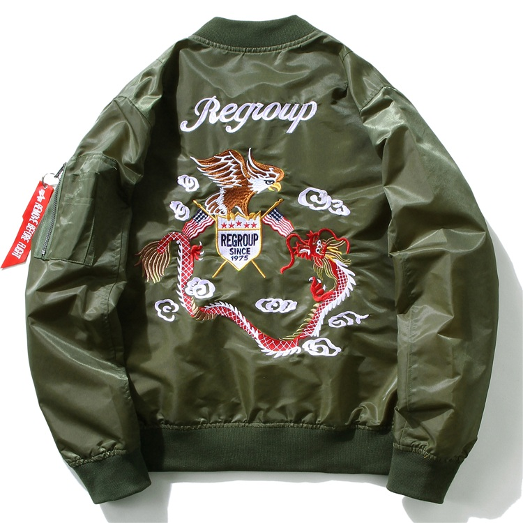 Eagle Dragon MA1 Bomber Jacket 5