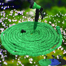 TALL TOP 25FT-100FT Garden Hose Expanding Magic Flexible Watering Hose Plastic Hoses Pipe With Spray Gun Tube Hoses to Watering(China)