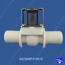 "G3/4"" inch port (DC12V) Nylon low pressure water solenoid valves ,electronic Drain valve,low pressure solenoid valves(China)"