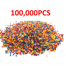 100000pcs/pack Crystal Water Bullet Paintball Gun Bullet Pistol Toy Orbeez Water Crystal Mud Soil Arme Arma Outdoor Toy(China)