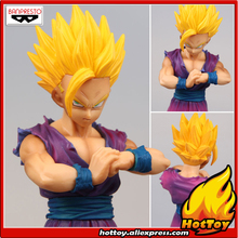 "100% Original BANPRESTO Resolution of Soldier Vol.4 Collection Figure - Son Gohan Super Saiyan 2 from ""Dragon Ball Z"""