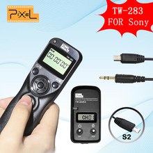 Pixel TW283 TW-283 S2 Wireless LCD Timer Remote Control Shutter Release for Sony A6000 A58 A7 A7R A3000 HX300 HX50 HX400 HX60