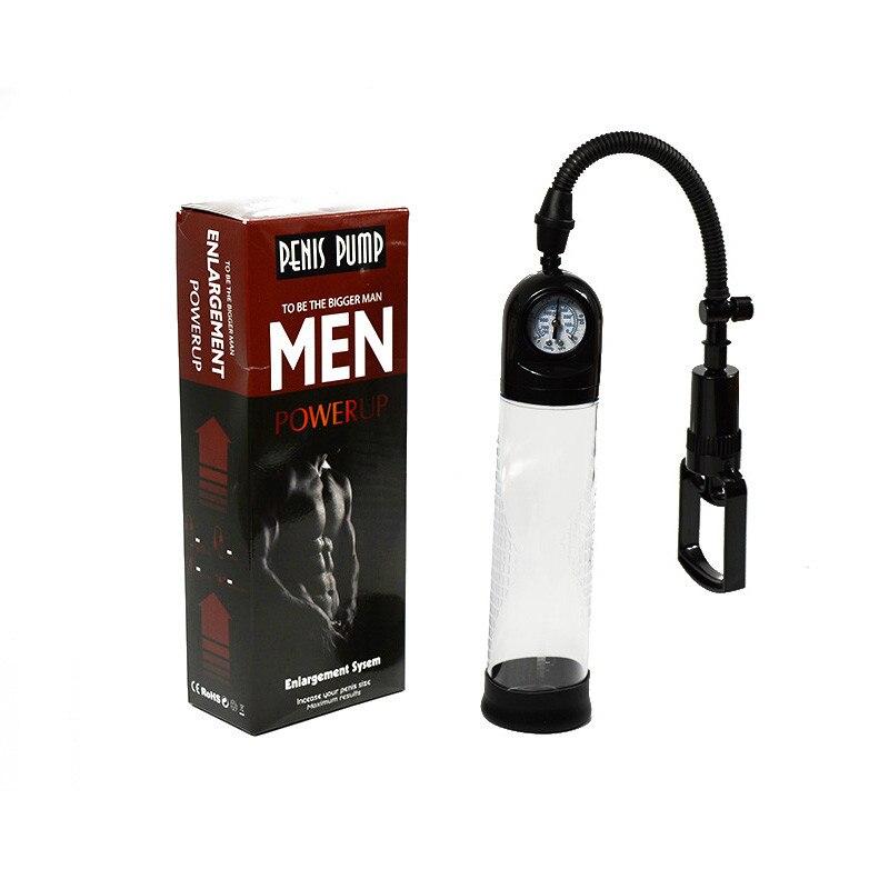 Penis Pump Penis Enlargement Vacuum Pump with Gauge Penis Erection Extender Enlarger Sex Toys for Men 9