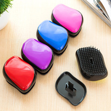 Fashion Magic Hair Comb Brush Detangling Handle Tangle Shower Hair Brush Comb Colorful Massage Hair Styling Tools 6 colors