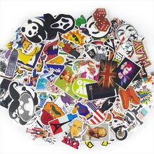 50-500pcs Single-pcs DIY Waterproof Film Car Funny  Sticker Doodle Decoration Bicycle Motorcycle Travel Case Sticker Home Decor