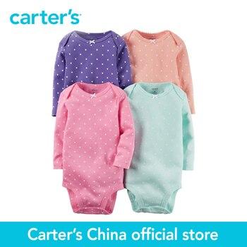 4 pcs bébé enfants enfants D'origine Combinaisons de Carter 126G336, vendu par Carter de Chine boutique officielle
