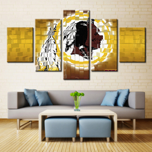 Washington Redskins NFL American Football Perfect Gifts for Fans Oil Artwork Sport Wall Art Painting Home Decor Customized