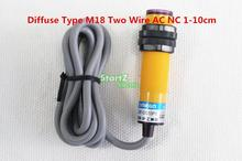 M18 90-250V AC 10cm Sensor NC 2 Wire Diffuse Photoelectric Switch E3F-DS10Y2(China)