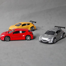The latest Zinc alloy toy car with light alloy car model toy, is the best gift for collectors and children
