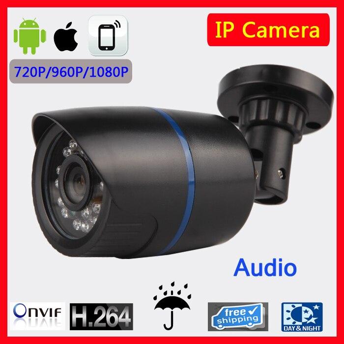 Economical Full 720P 960P 1080P Outdoor Waterproof IR IP camera HD Mega Pixels Network IP HD Camera 20M with CMS software<br>