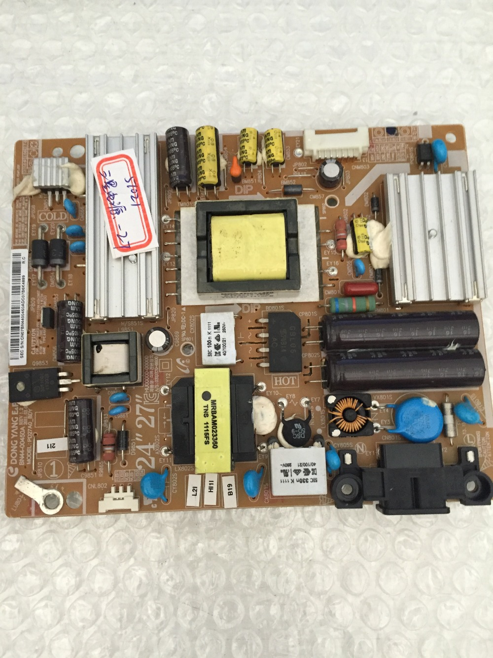 PDP27AO_BDY BN44-00450A REV 1.2 Power board<br><br>Aliexpress