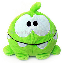 New Cut The Rope Happy Om Nom Plush Toy 22cm Cute Frog Stuffed Animals Soft Kids Toys For Boys Children Gifts