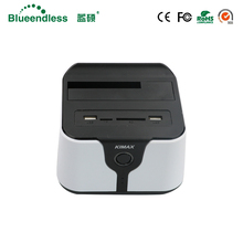 "Wireless external hdd sata usb 3.0 wifi hdd box 2.5/3.5"" SD TF card hdd dock for 6TB adapter external hdd ssd with wifi network(China)"