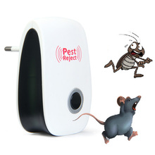 Multi-purpose Electronic Pest Repeller Ultrasonic Mosquito Rejector for Lustrating Mouse Bug Mosquito Insect EU-Plug(China)