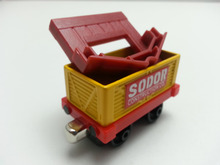 Thomas & Friends Yellow Transport Tall Carbo Truck Metal Toy Train Loose Brand New In Stock & Free Shipping