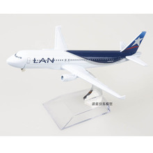 Brand New 1/400 Scale LAN Airlines Airbus A320 Airplane 16cm Length Diecast Metal Plane Model Toy For Collection/Gift