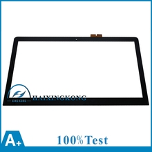 "15.6"" For Sony Vaio SVF15A Series Laptop Touch Screen Glass Lens Panel With Digitizer Replacement Parts 69.15I03.T02 L156fgt01.1(China)"