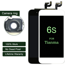 10PCS None Spot For Tianma quality For iPhone 6s LCD display Assembly with 3D Touch Screen Replacement Lens Pantalla(China)