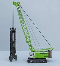 1:50 Sennebogen 690HD Crawler Crane with Diaphragm Wall Grab toy(China)