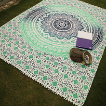 Summer Beach Towels Bath Towel Bohemian Tassels Blanket Yoga Mat Beach Picnic Throw Rug Blanket Camping Mattress Sleeping Pad
