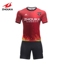 Customized  O  neck  slim fit soccer jersey original football jerseys