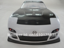 Ewellsold 016 1/10 Scale On-Road Drift Car Painted PVC Body Shell 190MM for 1/10 Radio controlled car 2pcs/lot free shipping