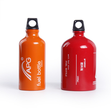 Portable 530ML/1000ML Gasoline Fuel Bottle Petrol Kerosene Alcohol Liquid Gas Tank For Camping Multi Fuel Oil Stove