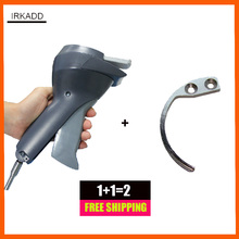 1 piece super security tag detacher with lanyard and 1 eas mini hook detacher free shipping(China)