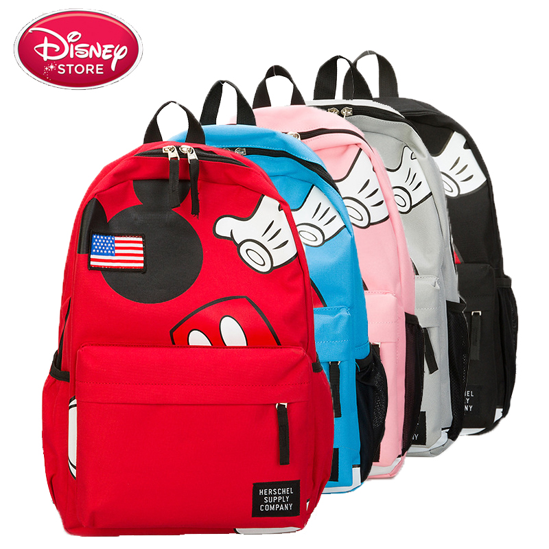 NEW Action Figure Set and Toy Organizer Toys 27cm Backpack Mickey Mouse The Pooh