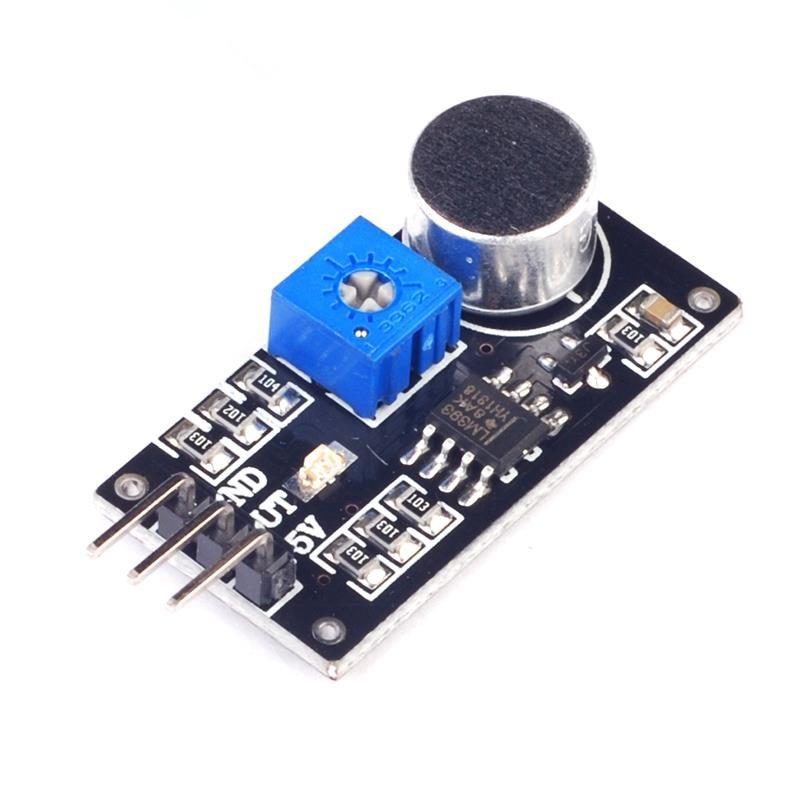 5pcs/lot  Sound sensor module sound sensor intelligent vehicle For arduino