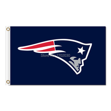 New England Patriots Flag Logo Blue Country Super Bowl Champions 3ftx5ft Banner 100D Polyester Flag Metal Grommets(China)