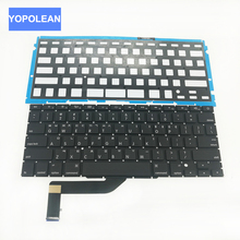 Brand New Korean Keyboard For Apple Macbook Pro Retina 15.4'' A1398 Korea Korean KR Keyboard & Backlight 2012 2013 2014 2015(China)