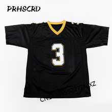 Retro star #3 Bobby Hebert Embroidered Throwback Football Jersey(China)