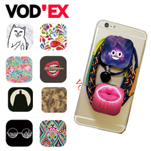Expanding Stand and Grip  Tablets Flexible Mobile Phone Holder for iPhone 6 Samung DIY Signer Cute Cartoon stander POP