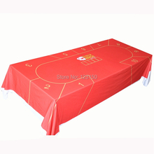 WP-053 Professional Water Resistant Poker Table Cloth, Texas Holdem, 1PC, Free shipping(China)