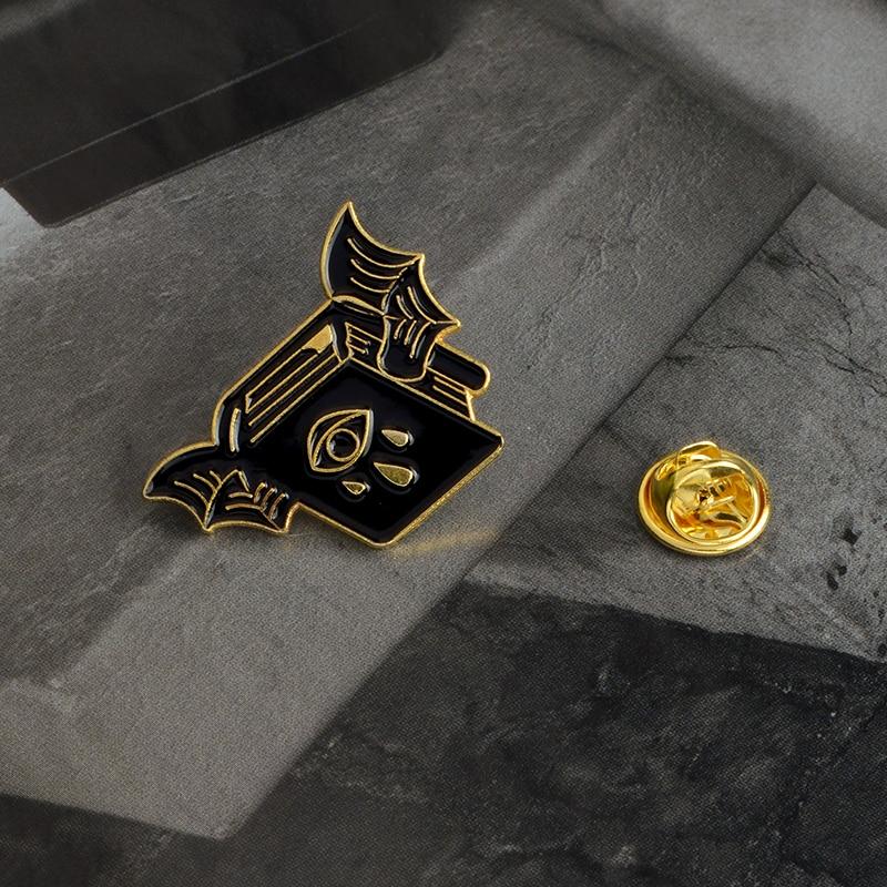 Steampunk broche insignia con Pin Retro Leche Malteada Té duelo Galleta Novedad #BT1
