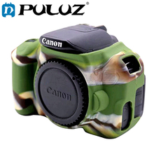 Buy PULUZ Cover Case Canon EOS 650D / 700D Soft Silicone Rubber Camera Protective Body Cover Case Skin Camouflage Camera Bag for $7.89 in AliExpress store