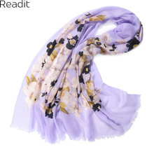 Winter Scarf 2016 Floral Printed Cashmere Scarf Pashmina Designer Blanket Scarf Luxury Women's Scarves and Wraps Bandana SC1459