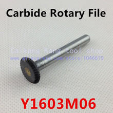 Head 16mm,Dise type of 90 degree,carbide rotary burrs,  deburring with rasp, carbide burrs, carbide grinding.Y1603M06