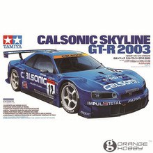 OHS Tamiya 24272 1/24 Calsonic Skyline GTR 2003 Scale Assembly Car Model Building Kits