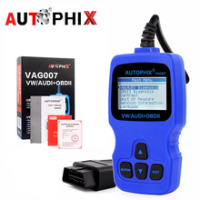 Autophix VAG007 Code readers scan tools Diagnostic Reader Scanner Tool For Audi VW Skoda vag Auto Automotive diagnostic-tool(China)