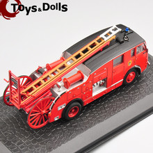 Hottest Collectible  1: 72 Dennis F 12  Fire Truck Alloy Diecast Model For Children Toys Gifts