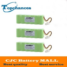 3PCS High Quality 14.4V 3000mAh Ni-MH Rechargeable Battery For Samsung NAVIBOT VCR8875 14.4 Volt Free Shipping