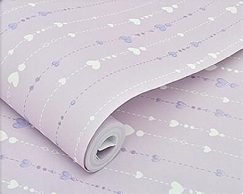 Beibehang Modern wallpaper child room stars pink, red, purple cute cartoon children bedroom warm wallpaper roll papel de parede<br>