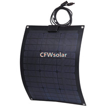 rechargeable solar battery with aluminum plate, solar panel with cable and MC4 connector, high efficiency solar cells 12V