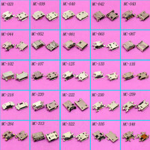 25models 50pcs Micro Mini USB Jack Connector Charging port socket For Phone/ PC tablet For Samsung Sony Lenovo ASUS Nokia...(China)