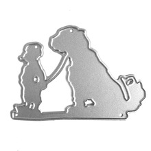 2017 New Steel Metal Die dog Cutting Dies Scrapbooking Embossing Dies Cut Stencils DIY Decorative Cards Embossing