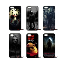 For iPhone 4 4S 5 5C SE 6 6S 7 Plus Samsung Galaxy Grand Core Prime Alpha jason vorhees friday 13th Hard Phone Cover Case